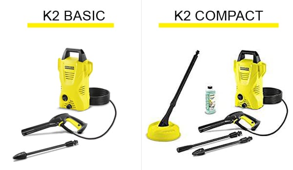 karcher k2 basic vs k2 compact