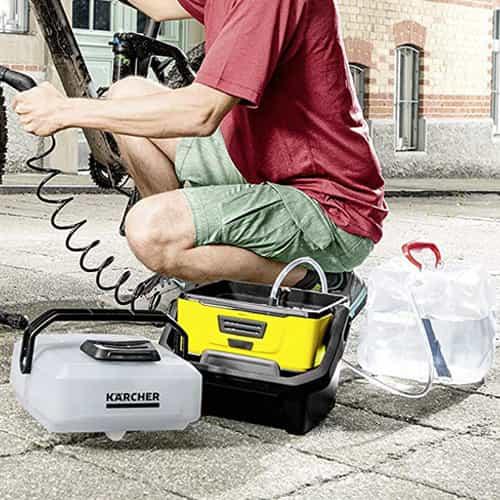 limpiadora a batería karcher oc3