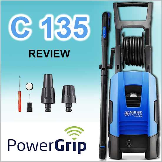 reseña de hidrolimpiadora nilfisk c 135 power grip